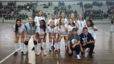 Fábio Nackpar dos Santos: 3º lugar infantil feminino