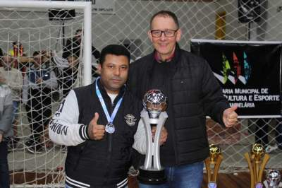 Ewaldo Prass, vice-campeão da categoria veteranos
