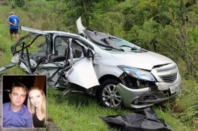Casal morre em acidente de trânsito na RSC-287