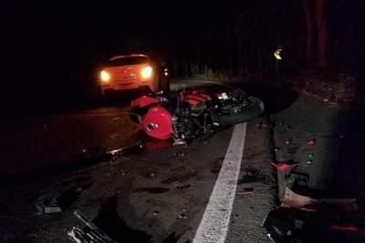 Acidente deixa motociclista ferido na ERS-400