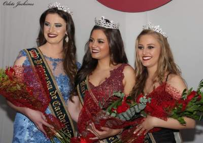 Isabela, Jéssica e Monique: o novo trio de soberanas de Candelária
