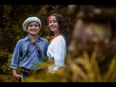 Thomas Machado e Luiza Barbosa: primeiro show da parceria