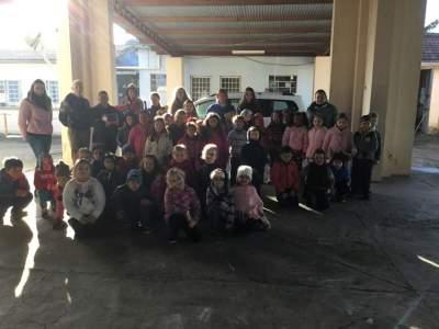 Dia 02/07 a COOEPE visitou a EMEI Rio Branco