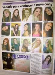 Na Folha, as candidatas ao concurso de 2010