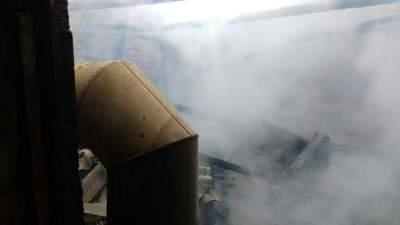 Incêndio destrói estufa de tabaco na Linha Brasil
