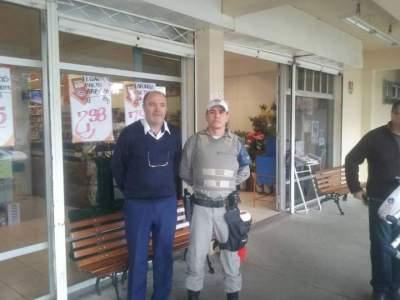 Brigada Militar de Candelária realiza Operação Avante Comercial
