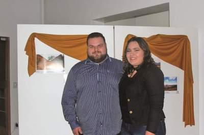 O vencedor de 2016 Eduardo Karsburg e Luisa Lemes