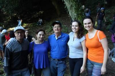 Jodeli com os familiares: fé e vivenciar a natureza