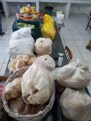 Sopa no bairro Princesa encerra a primeira etapa do Mesa Solidária