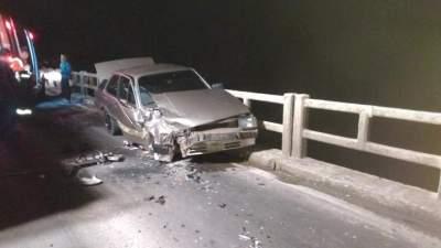 Acidente deixa mulher ferida na RSC 287