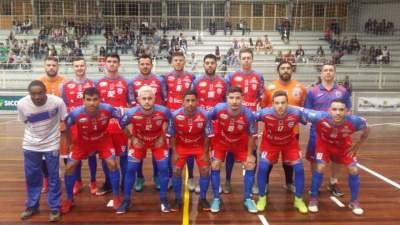 A equipe do Atlético que jogou em Três Coroas: vitória de virada