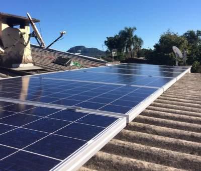 Com o objetivo de reduzir o custo com a conta de luz, moradores estão instalando o Sistema de energia solar fotovoltaico na área urbana de Candelár