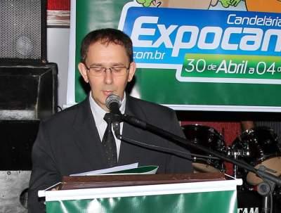 Presidente da 10ª Expocande, Jorge Mallmann