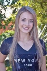 Juliana Haupt, 15 anos