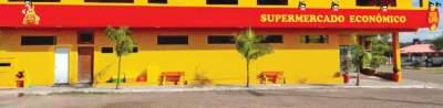 Supermercado está localizado na Avenida 28 de Dezembro, 1015, no centro do município