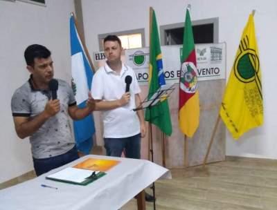 Os organizadores: Joselito Medeiros e Tiago Garcia