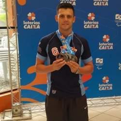 Natação: Mauricio Scota conquista seis medalhas no Paraná