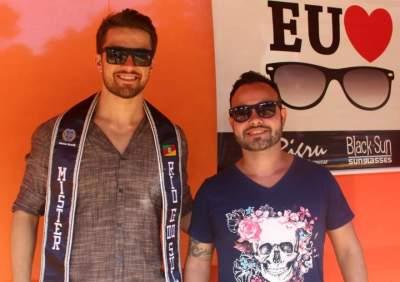 O Mister RS  Felipe Haeffner e Wellington Costa
