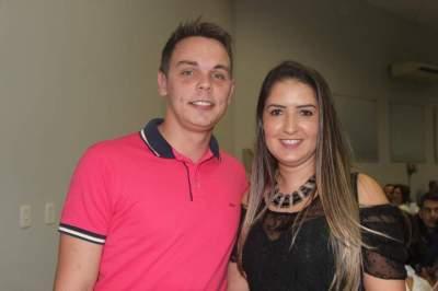 Alexandre Butzke e Jamila Braga