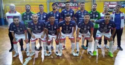 A equipe do Atlético que jogou em Charqueadas
