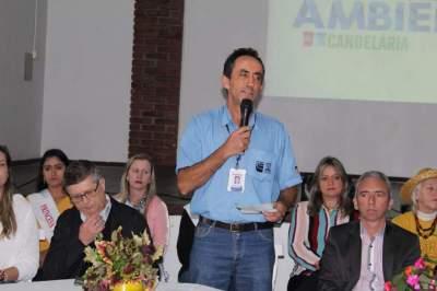Chefe do escritório local da Emater, Sanderlei Pereira falou também da importância da troca de experiências entre os participantes
