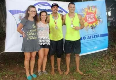 Os vencedores no vôlei da etapa de Candelária do Circuito Verão do Sesc