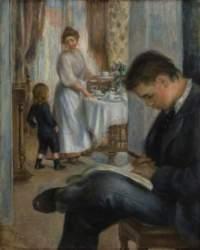 Pierre-Auguste Renoir: Almoço em Berneval, 1898