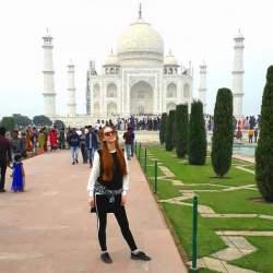 Melissa Radünz e os encantos da Índia