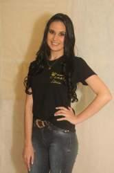 A candidata Letícia