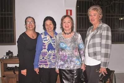 Brunilda Pereira, Iva Lenz, Ione Pohl e Silvia Becker