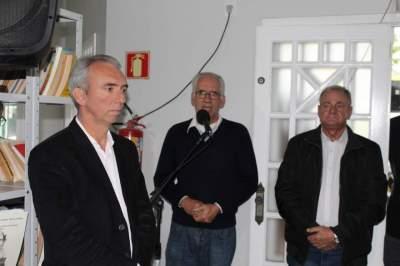Carlos Nunes Rodrigues falou da importância do novo espaço para o Museu Aristides Carlos Rodrigues