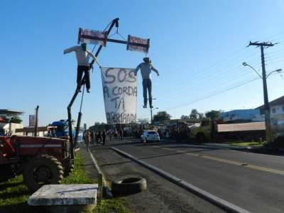 Manifestações continuam na região