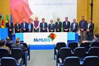 Prefeito Paulo Butzge é eleito vice-presidente da Famurs