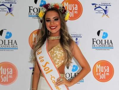 Júlia Gularte é a Musa do Sol de Candelária 2019