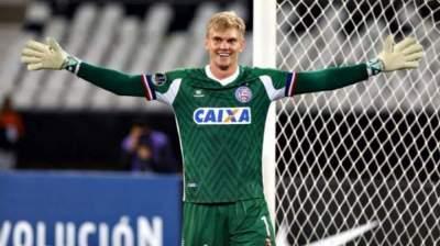 Douglas Friedrich celebra bom momento no Bahia