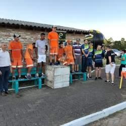 Na terça, Rotary homenageou coletores de lixo