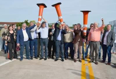 Sartori inaugura nova rótula em Cabrais e ponte em Candelária