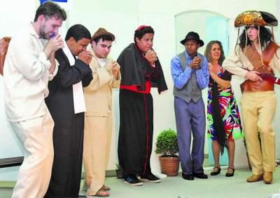 """Grupo Cara & Cor'agem  irá reapresentar a peça """"O Auto da Compadecida"""""""