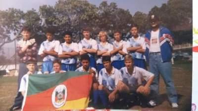 Amistoso do Atlético no Rio de Janeiro - Arquivo Rodolfo Feldmann