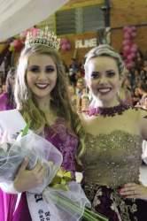 Aline recebeu de Cássia a faixa de Princesa