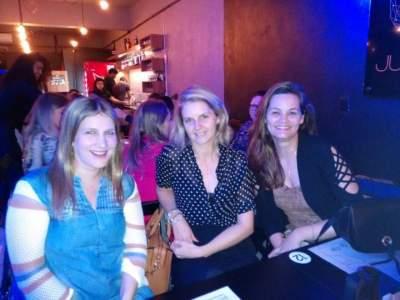 Juliana Savi, Ticiana Krug e Daiana Melchior