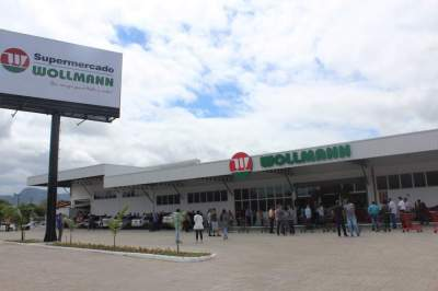 Supermercado Wollmann inaugura nova loja em Cerro Branco