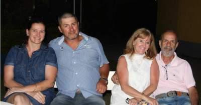 Marcia e Dalton Hoppe, Carmen e Veveco Kochemborger