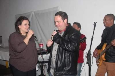Sandro Pires e Alexandre com Patrícia Steffanello e Alan Wagner