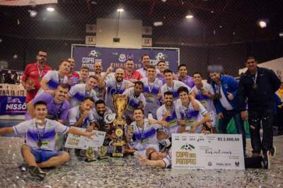 Deivis Gomes e Douglas Beiço são campeões da Copa dos Pampas