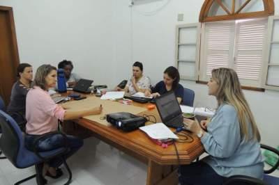 Trabalhos foram coordenadores pela assessora de Programas Sociais, Cristiane de Oliveira Biscaino
