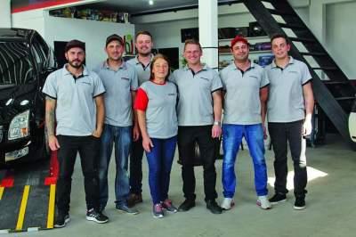 A equipe da Extrema Autocenter