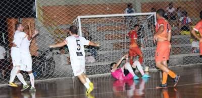 Os resultados da terceira rodada da Copa Candelária de Futsal