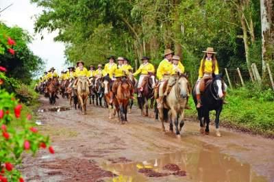 7ª Cavalgada da Mulher Gaúcha acontece neste final de semana em Candelária
