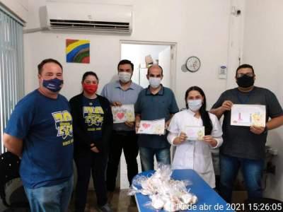 Medianeira desenvolve projeto de gratidão aos profissionais da saúde